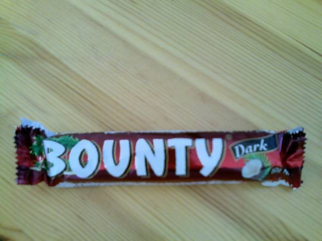 bounty coconut bar