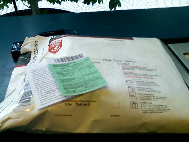 package ready to be mailed