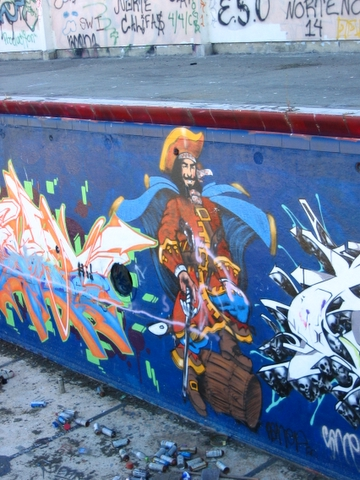 pirate graffiti